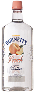Burnett's Vodka Peach 1.75l